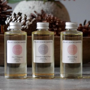 Blue Door Barns Body Oil by Stephanie Slade